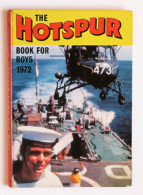 The Hotspur Book For Boys 1972: Red Star Robinson, Football Special..Etc.