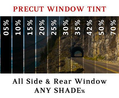 PreCut All Sides & Rear Window Film Any Tint Shade % for Ford Fiesta Glass