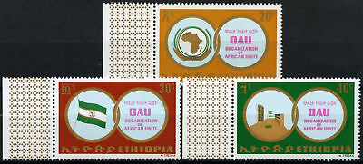 Ethiopia 1970 SG#759-761 African Unity MNH Set #D61898