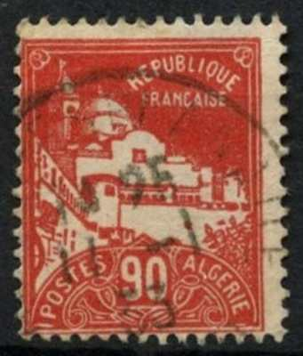 Algeria 1927 SG#60, 90c Red Used #D61911