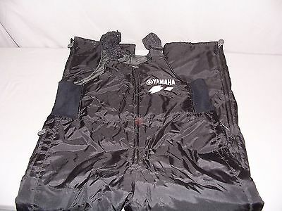 Yamaha Bib Snow Pants Black Men's Large 46 x 33 Snowmobile