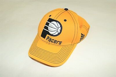new concept b438b 2429e INDIANA PACERS - NBA ADIDAS - GOLD SEMI-FITTED FLEX HAT - Large XL