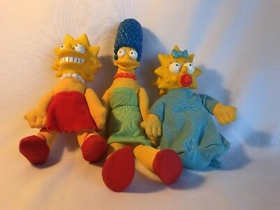 1990 The Simpsons Doll Lot