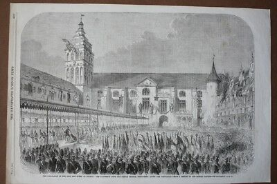Krönung, The coronation of the King and Queen of Prussia: The procession from th