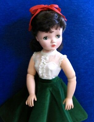 Adorable Vintage 1956 Tagged Outfit Made For The Cissy Doll By Madame Alexander