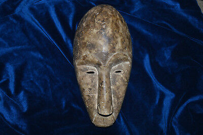 OLD African MASK Wooden Hand-Carved Antique Tribal ART  ***NO RESERVE***