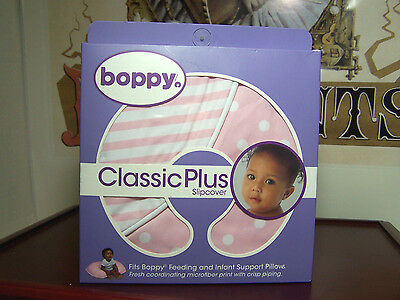Boppy Classic Plus Slipcover for Boppy Infant Support Pillows Microfiber Print N