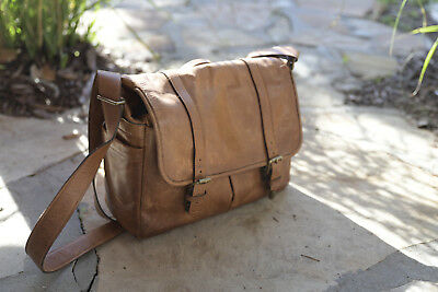 ONA Brixton leather camera laptop bag; Used only a few times.