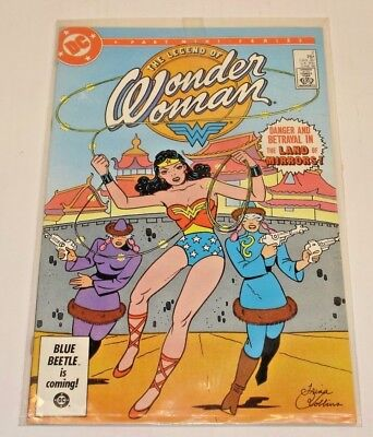 DC The Legend of Wonder Woman Comic Book #2 1986 Mint Fine