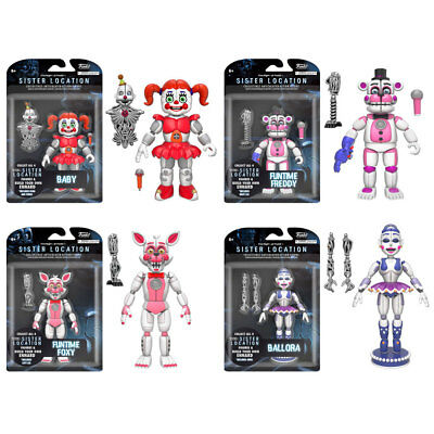 Funko Action Figures - Five Nights at Freddy's Series 3 - SET OF 4 (FT Freddy++)