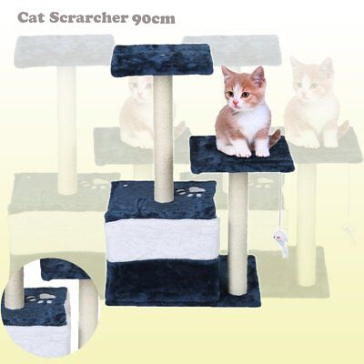 Cat Scratching Post Tree Scratcher Pole Furniture Gym House Toy Small 70cm AU GR