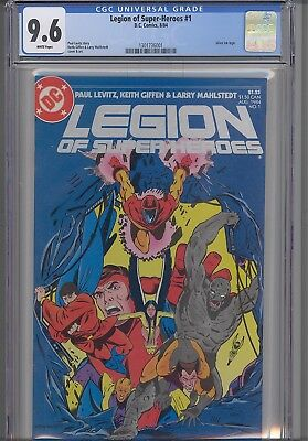 Legion of Super Heroes #1  CGC 9.6 1984 DC Comic: Silver Logo: with a  New Frame