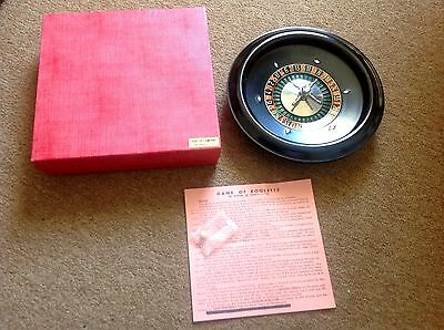 Vintage Bakelite Roulette w/ Rules & Ball. Five - Up Company San Francisco. CA.