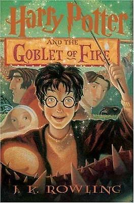 Harry Potter And The Goblet Of Fire (Book 4)  (NoDust) by J.K. Rowling