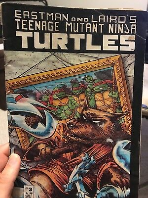 Mirage Studios TEENAGE MUTANT NINJA TURTLES Issue 3 - Reprint, Eastman & Laird