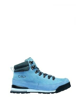 CMP Hiking Shoe Hiking Shoes Heka BLAU Leather Waterproof Lace-ups