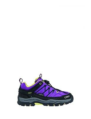 CMP Hiking Shoes Hiking Shoe Purple Kids Rigel Low Leather Waterproof