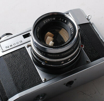 Neoca S with 45mm 4.5cm  f1.8 Zunow lens - just serviced