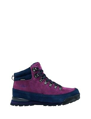CMP Hiking Shoe Hiking Shoes Heka Red Leather Waterproof Lace-Ups