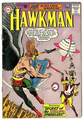 Hawkman #2 VG/FN 5.0 off-white pages  DC  1964  No Reserve