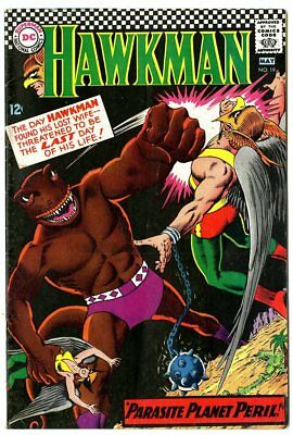 Hawkman #19 VF- 7.5 ow/white pages  DC  1967  No Reserve