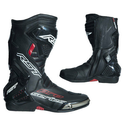 RST Pro Series Black / Black Moto Motorcycle Motorbike Race CE Boots | All Sizes