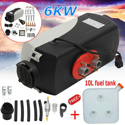 5 kW 12V Air diesel Heater for trucks, motor-homes, boats, Car + 10L fuel tank