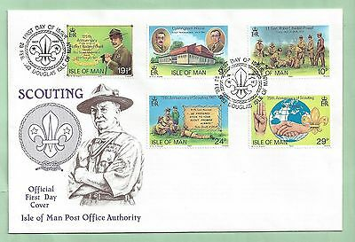 Isle of Man IOM First Day Cover FDC 1982 Scouting Boy Scouts Scout