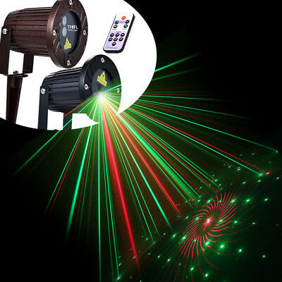 led laser projektor gartenlicht beleuchtung au en xmas licht wasserdicht schwarz eur 22 82. Black Bedroom Furniture Sets. Home Design Ideas