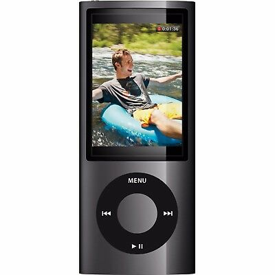 New Black 64 Gb Mp3 4Th Generation Music Media Player Lcd Screen Fm Video Photo