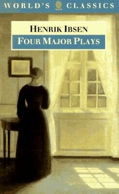"""Four Major Plays: """"Doll's House"""", """"Ghosts"""", """"Hedda... by Ibsen, Henrik Paperback"""