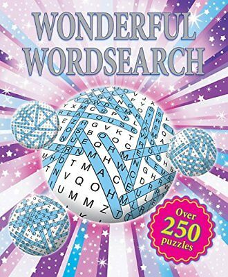 Puzzles - Wonderful Wordsearch: Over 250 Puzzles (Deluxe T... by Igloo Books Ltd