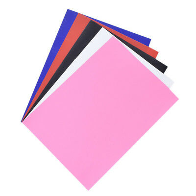 1X A4 Sheet PVC Heat Transfer Vinyl Iron On DIY Fabric T shirt Press Cutter Film