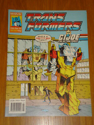 Transformers British Weekly #257 Marvel Uk Comic 1990