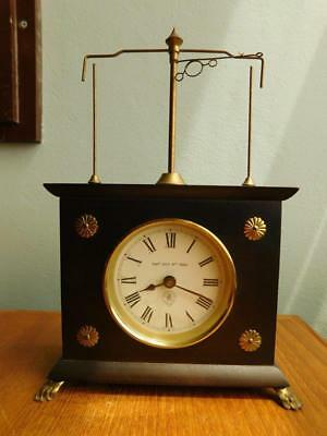 Patent HOROLOVAR Flying Pendulum Clock Jerome & Co West Germany.