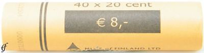 Luxemburg Rolle 20 Cent 2006