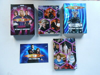 Doctor Who-The Complete Fourth Series-6 Dvd Set-977 Minutes-Region 4-Australia