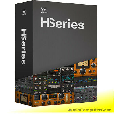Waves H-SERIES Bundle Audio Software Hybrid Delay EQ Analog Effects Plug-in NEW