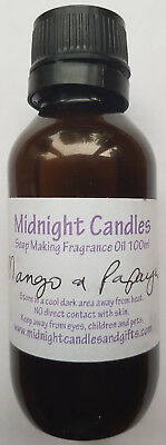 New Midnight Candles Mango And Papaya Soap Making Fragrance Oil 100ml