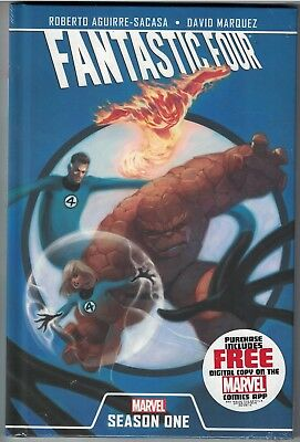 FANTASTIC FOUR SEASON ONE HC Hardcover $24.99srp Dr Doom Thing Namor NEW SEALED