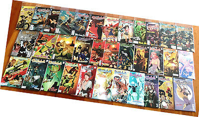 DC Comcs Bombshells #1-33, Annual #1, complete series