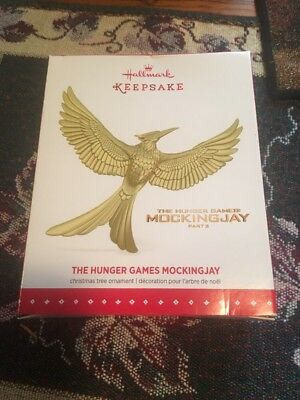 New 2015 Hallmark Keepsake The Hunger Games Mockingjay Christmas Ornament