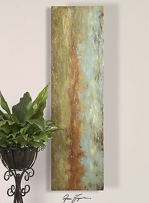 """72"""" Tall Abstract Wall Art Panel 