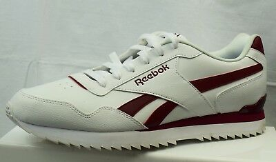 Reebok Royal Glide Ripple Clip Men's Trainers Used Size Uk 10 (Cj4)