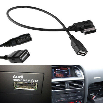 usb audi music interface ami mmi aux cable for a3 a4 a5 a6 a7 a8 q5 q7 r8 picclick. Black Bedroom Furniture Sets. Home Design Ideas