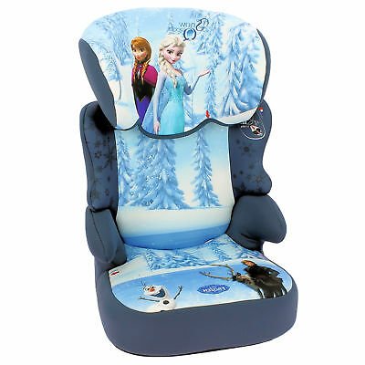 New Nania Disney Frozen Befix Group 2 / 3  High Back Booster Car Seat 15 - 36Kgs