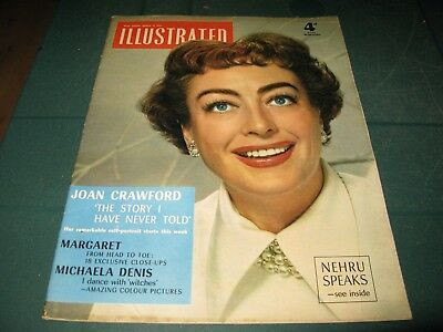 Vintage Magazines - Illustrated - 12Th March 1955 Joan Crawford Cover