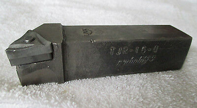"Carboloy Indexable Lathe Turning Tool Holder TJR-16-4. 1"" Diameter Shank"