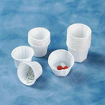 Paper Souffle Cups 2oz Disposable Waxed Paper Ramekin, Sauce Pots 250 lots NEW