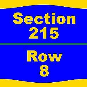 1/19 2 Tix Los Angeles Lakers vs. Indiana Pacers